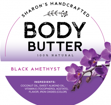 Black Amethyst - Body Butter